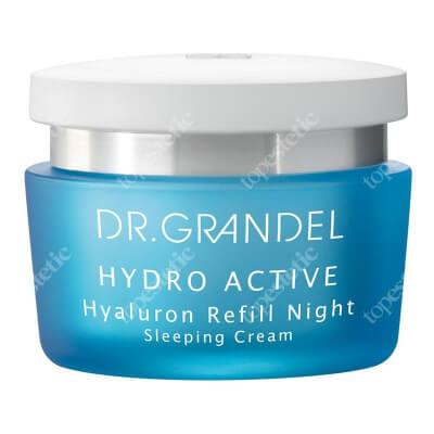 Dr Grandel Hyaluron Refill Night Krem z kwasem hialuronowym nawilżająco-ujędrniający na noc 50 ml
