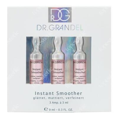 Dr Grandel Instant Smoother Ampułka oczyszczająca, matująca, wygładzająca 3x3 ml
