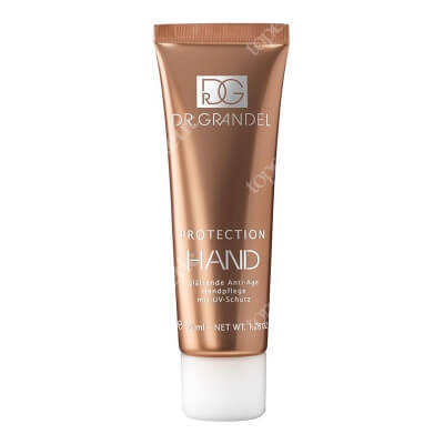 Dr Grandel Protection Hand Krem do rąk anti-age, regenerująco-ochronny, z filtrami UV 50 ml