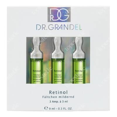 Dr Grandel Retinol Ampoule Ampułka wygładzająca zmarszczki 3x3 ml