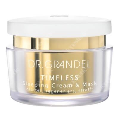 Dr Grandel Sleeping Cream and Mask Krem - maska przeciwzmarszczkowa na noc, 2w1: regeneruje i ujędrnia 50 ml