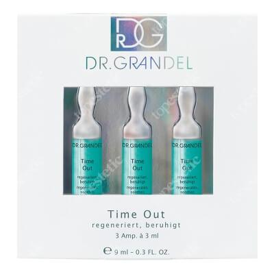 Dr Grandel Time Out Ampoule Ampułka regenerująca, wygładzająca zmarszczki, intensywnie nawilżająca 3x3 ml
