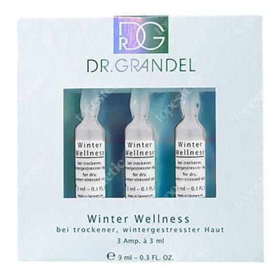 Dr Grandel Winter Wellness Zimowy koncentrat regenerujący 3 x 3 ml