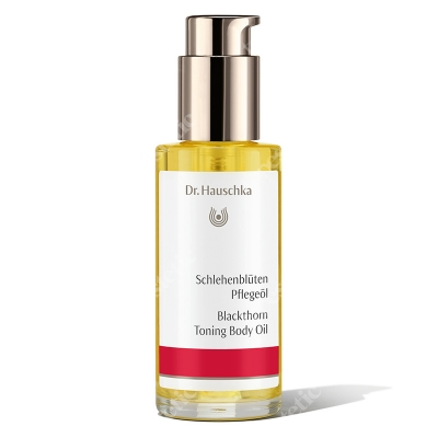 Dr Hauschka Blackthorn Toning Body Oil Olejek do ciała z tarniną 75 ml