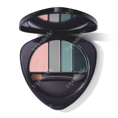 Dr Hauschka Deep Infinity Eye Shadow Palette 02 Paleta 4 cieni (numer 02) 5,3 g