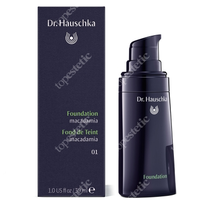 Dr Hauschka Foundation 01 Macademia Podkład (kolor macademia) 30 ml