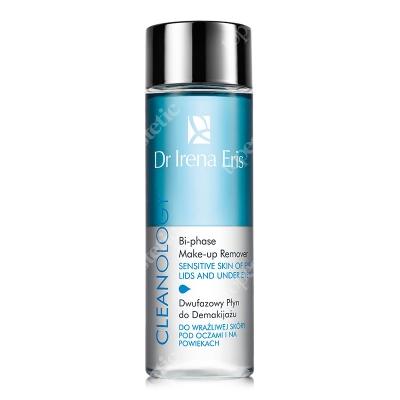 Dr Irena Eris Bi-Phase Make-Up Remover Dwufazowy płyn do demakijażu do wrażliwej skóry pod oczami i na powiekach 100 ml