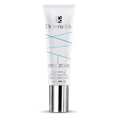 Dr Irena Eris Brightening & Puff Correcting Supreme Eye Cream SPF20 Krem korygujący cienie i obrzęki pod oczami 15 ml