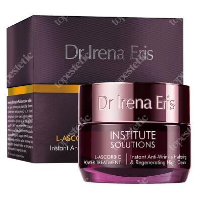 Dr Irena Eris L-ascorbic Power Treatment Instant Anti Wrinkle Hydrating & Regenerating Night Cream Nawilżająco-odżywczy krem przeciwzmarszczkowy na noc 50 ml