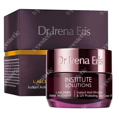 Dr Irena Eris L-ascorbic Power Treatment Instant Anti Wrinkle & UV Protecting Cream Intensywny ochronny krem przeciwzmarszczkowy na dzień 50 ml