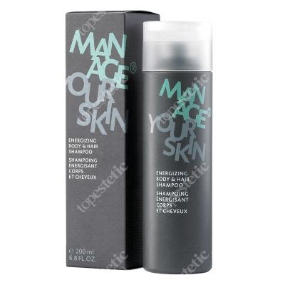 Dr Spiller Energizing Body & Hair Shampoo Energetyzujący szampon do ciała i włosów 200 ml
