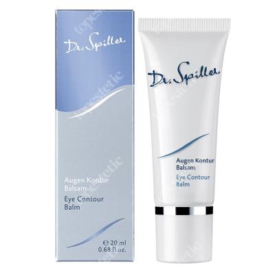 Dr Spiller Eye Contour Balm Lipidowy balsam pod oczy z olejem sojowym, lecytyną oraz witaminą E, A i C, 20 ml