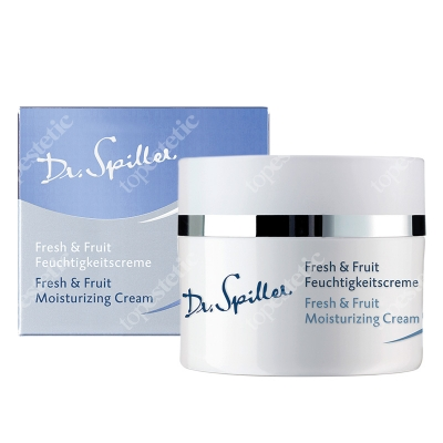 Dr Spiller Fresh & Fruit Moisturizing Cream Krem z na bazie oleju z pestek moreli, alantoiną, pantenolem i kompleksem owocowych ekstraktów 50 ml