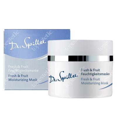 Dr Spiller Fresh & Fruit Moisturizing Mask Żelowa maska z kompleksem ekstraktów z ananasa, papai, mango i pantenolem 50 ml