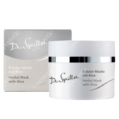Dr Spiller Herbal Mask With Aloe Ziołowa maska z ekstraktem z aloesu, kasztanowca, przywrotnika, skrzypu, chmielu, goryczki, mniszka i lukrecji 50 ml