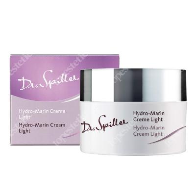 Dr Spiller Hydro Marin Cream Light Rewitalizujący krem z wyciągiem z alg Laminaria, kwasem hialuronowym, witamina E i C, 50 ml