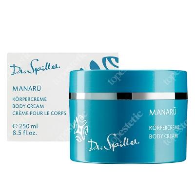 Dr Spiller Manaru Body Cream Krem do ciała z ekstraktem z hibiskusa, olejem Manoi, ekstraktem z białej orchidei 250 ml