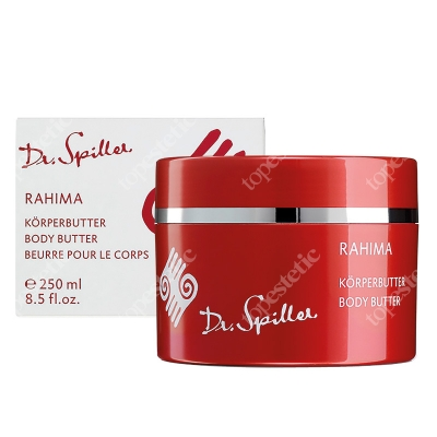 Dr Spiller Rahima Body Butter Subtelna linia do pielęgnacji skóry ciała z masłem mango, olejem marula 250 ml