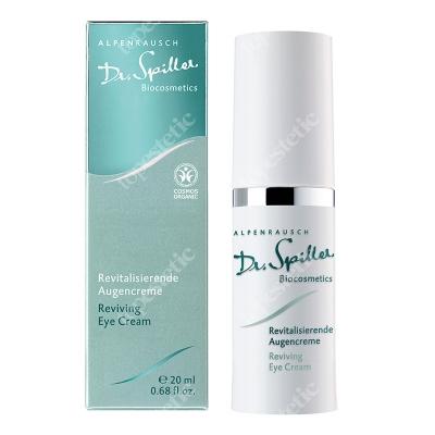 Dr Spiller Reviving Eye Cream Rozświetlający i redukujący opuchliznę krem pod oczy z ekstraktem ze świetlika, piany łąkowej, lipy i szarotki alpejskiej 20 ml