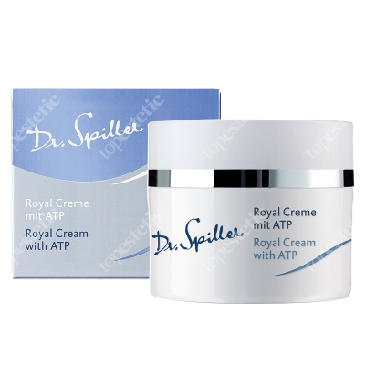 Dr Spiller Royal Cream With ATP Rewitalizujący krem z ATP, żeń-szeniem, z galaretką królewską i beta-karotenem 50 ml