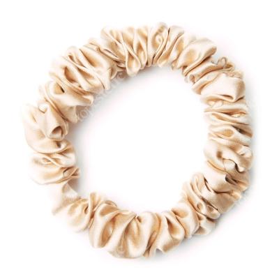 Easy Livin Gumka do włosów - Złota Frotka wykonana z 100% naturalnego jedwabiu 1 szt.