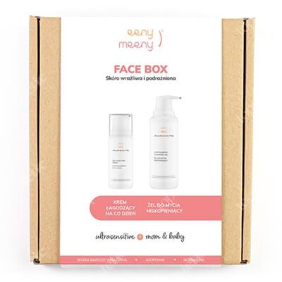Eeny meeny Face Box ZESTAW Idealny pod makijaż mamy jak i pielęgnacji ciała niemowlęcia 100 ml + Do mycia twarzy mamy oraz ciała i włosków dziecka 200 ml