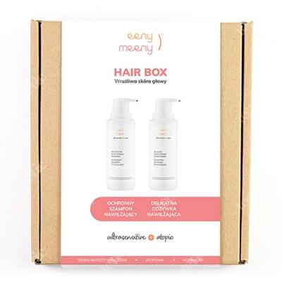 Eeny meeny Hair Box ZESTAW Polecany do pielęgnacji skóry bardzo wrażliwej, atopowej i normalnej 200 ml + Do pielęgnacji skóry bardzo wrażliwej, atopowej i normaln