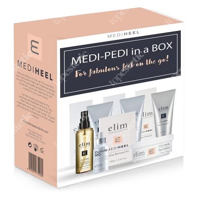 Elim Medi Pedi in A Box ZESTAW do kompleksowej pielęgnacji stóp