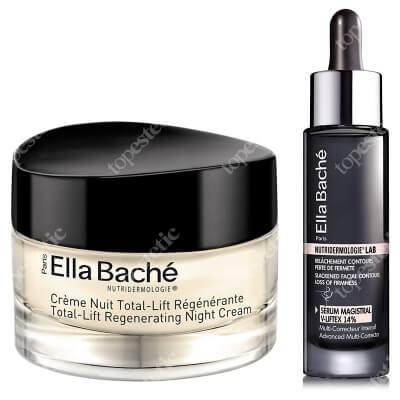 Ella Bache Lifting i Regeneracja ZESTAW Serum liftingująco - modelujące 30 ml + Liftingująco-Regenerujący krem na noc 50 ml