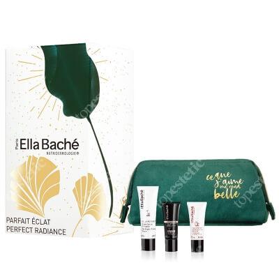 Ella Bache Perfect Radiance Gift Set 2020 ZESTAW Krem pomidorowy 50 ml + Multi-korygujące serum rozjaśniające 15 ml + Pianka myjąca 15 ml + Kosmetyczka 1 szt