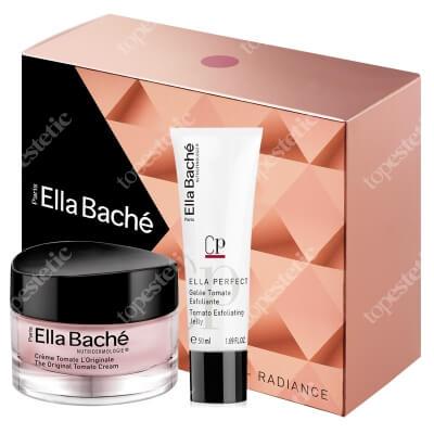 Ella Bache Radiance Gift Box 2018 ZESTAW Oryginalny krem pomidorowy 50 ml + Pomidorowy żel pilingujący 50 ml + Kosmetyczka