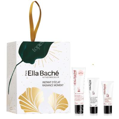 Ella Bache Radiance Moment Gift Set 2020 ZESTAW Antyoksydacyjny krem pomidorowy 30 ML + Pomidorowy peeling enzymatyczny 50 ml + Pomidorowa pianka myjąca 15 ml