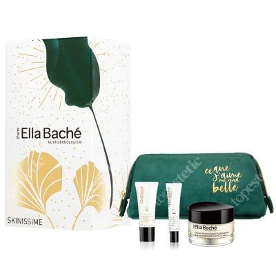 Ella Bache Skinissime Gift Set 2020 ZESTAW Odbudowujący krem 50 ml + Liftingujący krem pod oczy 15 ml + Liftingująco-Regenerujący krem na noc 15 ml + Kosmetyczka 1 szt