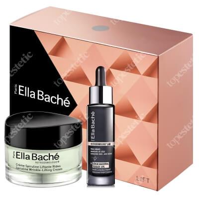 Ella Bache Spirulines Gift Box 2018 ZESTAW Przeciwzmarszczkowo-liftingujący krem ze spiruliną 50 ml + Serum 30 ml + Kosmetyczka