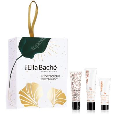 Ella Bache Sweet Moment Gift Set 2020 ZESTAW Lekki odżywczy krem Jojoba 15 ml + Odżywczy krem do ciała 30 ml + Balsam migdałowo - miodowy 30 ml