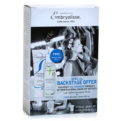 Embryolisse Backstage Box Embryolisse ZESTAW Krem odżywczo-nawilżający 75 ml + Płyn micelarny 100 ml