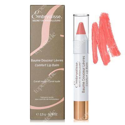 Embryolisse Comfort Lip Balm Coral Nude Koloryzująco- odżywczy balsam do ust 2,5 g