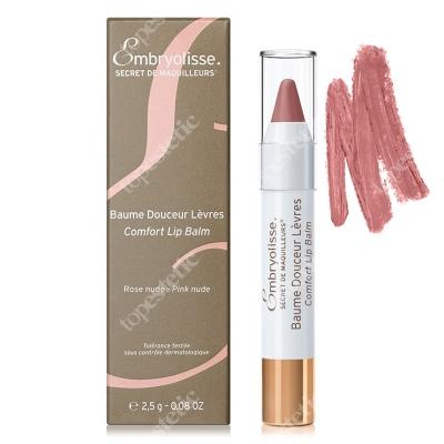 Embryolisse Comfort Lip Balm Rose Nude Koloryzująco-odżywczy balsam do ust 2,5 g