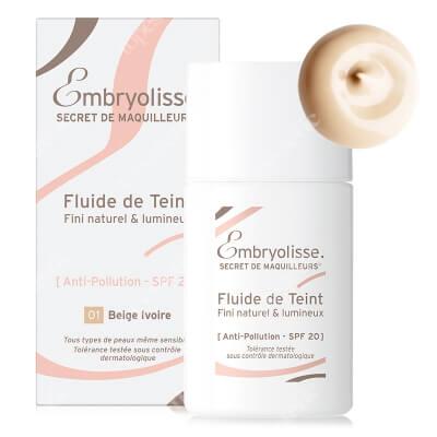 Embryolisse Liquid Foundation Nowoczesny podkład pielęgnujący Ivory Beige (1) 30 ml