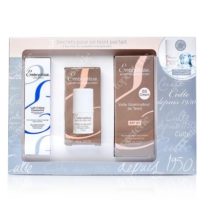 Embryolisse Parisian Pharmacy Set - Limited Edition ZESTAW Krem odżywczo-nawilżający 30 ml + Świetliste oczy 4,5 g + BB krem SPF 20 30 ml