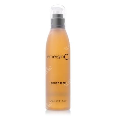 EmerginC Peach toner Odświeżający tonik z witaminą C 240 ml
