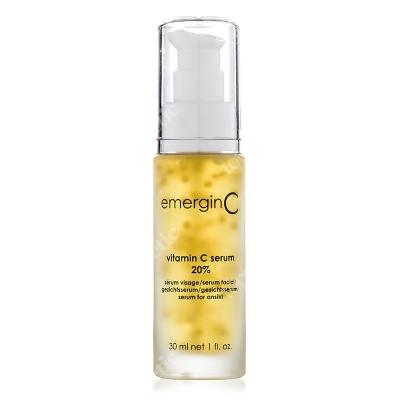 EmerginC Vitamin C 20% serum Silnie rozjaśniające i przeciwstarzeniowe serum z 20% wit. C 30 ml