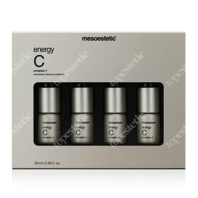 Mesoestetic Energy C Intensywnie rozświetlające serum z witaminą C 4 x 7 ml