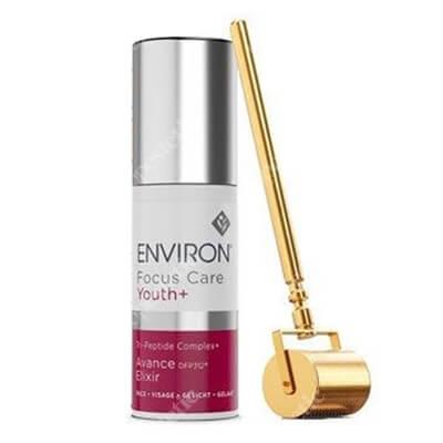 Environ Gold Roll-CIT + Avance Elixir ZESTAW Złoty wałek kosmetyczny 0,2 mm + Krem peptydowy 30 ml