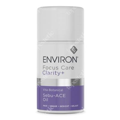 Environ Vita-Botanical Sebu-ACE Oil Roślinny olejek wzbogacony o witaminy, pielęgnujący skórę skłonną do wyprysków 60 ml