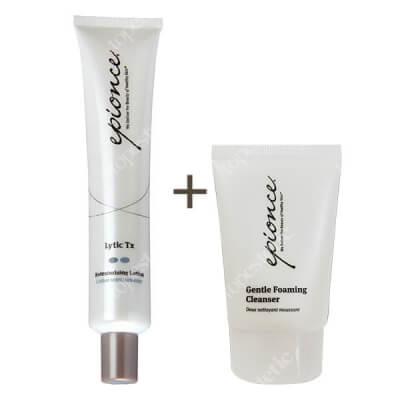 Epionce Lytic Tx + Gentle Foaming Cleanser ZESTAW Naprawczy krem lityczny (cera normalna i problemowa) 50 ml + Pianka oczyszczająca 30 ml