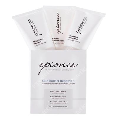 Epionce Skin Barrier Repair Kit ZESTAW Mleczko oczyszczające, Medyczny krem barierowy, Mleczko ochronne 3 x 30 ml