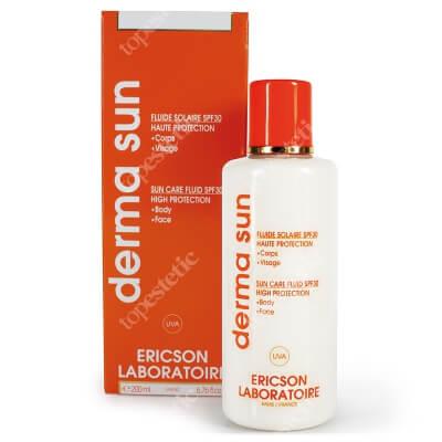 Ericson Laboratoire Derma Sun Fluide Solaire SPF30 Mleczko ochronne do twarzy i ciała SPF30 200 ml