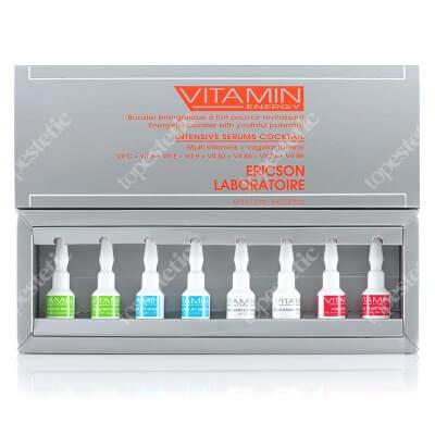 Ericson Laboratoire Vitamin Energy Intensive Serums Coctail ZESTAW Serum 8x 1,5 ml