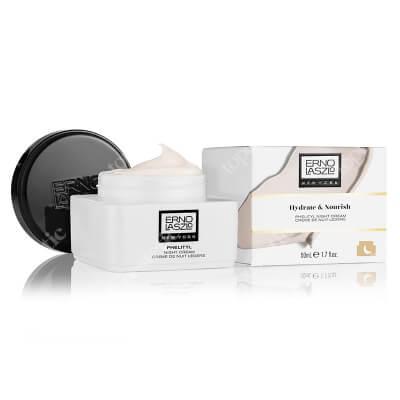 Erno Laszlo Phelityl Night Cream Nawilżający lekki krem na noc z krzemem 50 ml